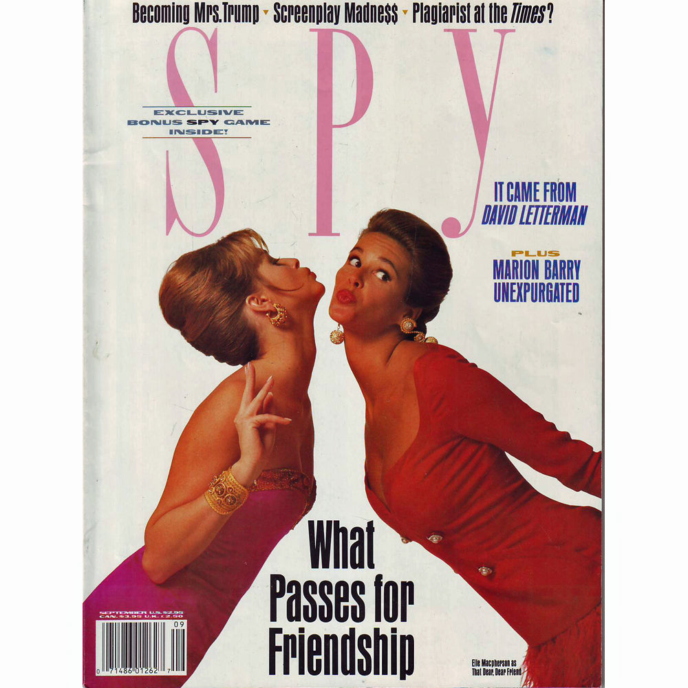 Spy Magazine (September 1990)
