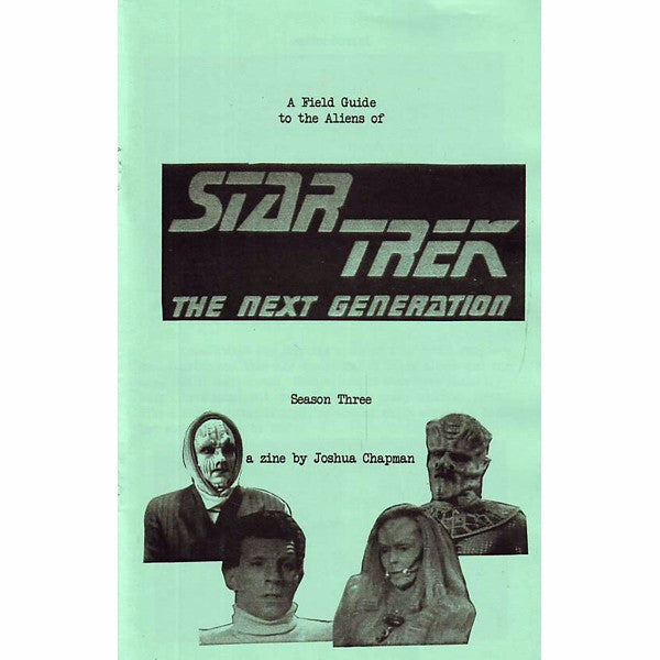 Field Guide To The Aliens Of Star Trek The Next Generation Season 3