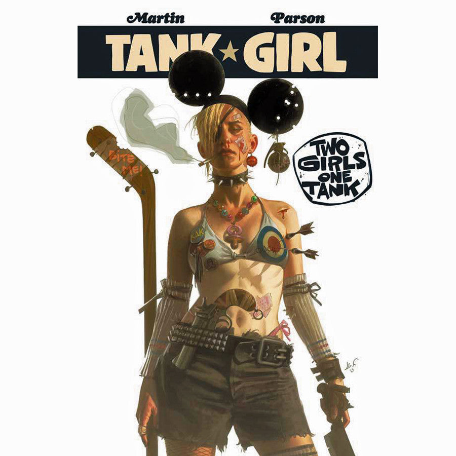 Tank Girl: 2 Girls 1 Tank
