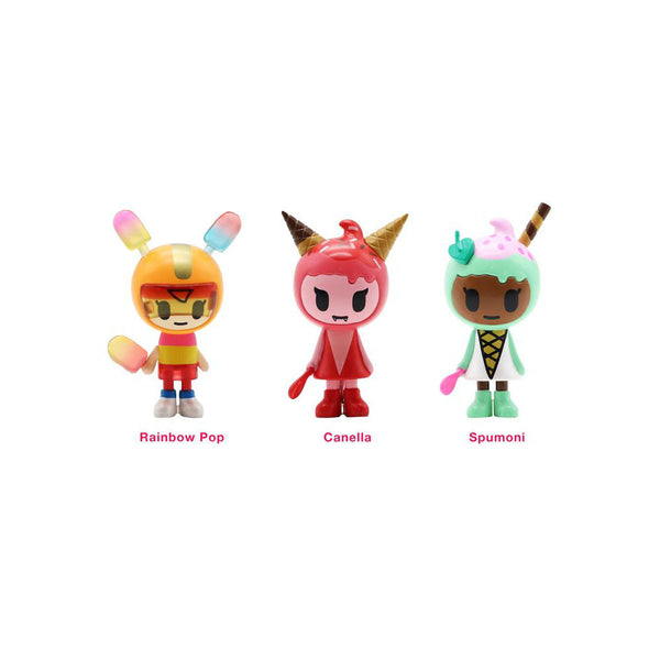 Ice Cream Girls 3-Pack