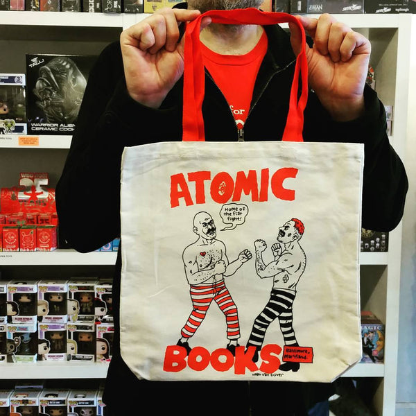 Atomic Books Home Of The Fistfight Tote