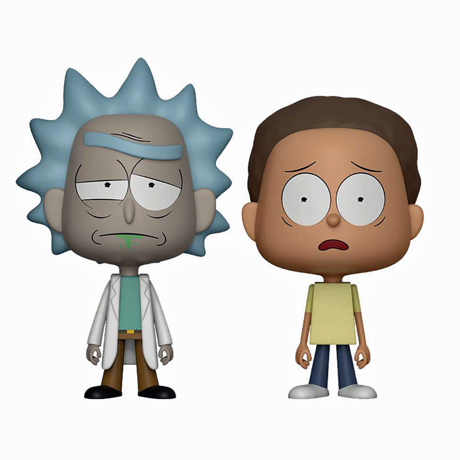 Vynl Rick And Morty Figure 2-Pack
