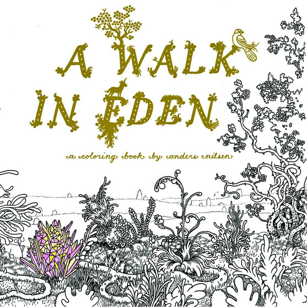 Walk in Eden: A Colouring Book by Anders Nilsen