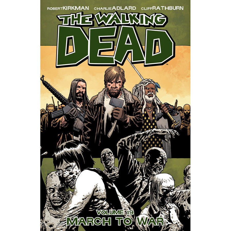 Walking Dead Volume 19: March To War