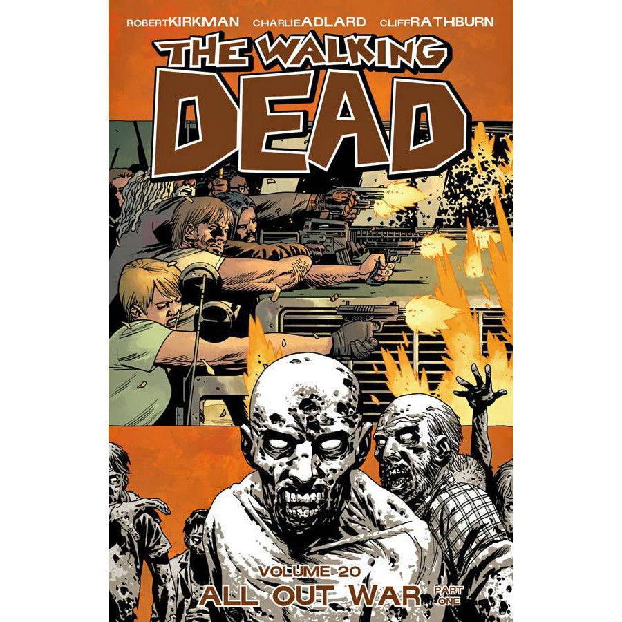 Walking Dead Volume 20: All Out War Part 1
