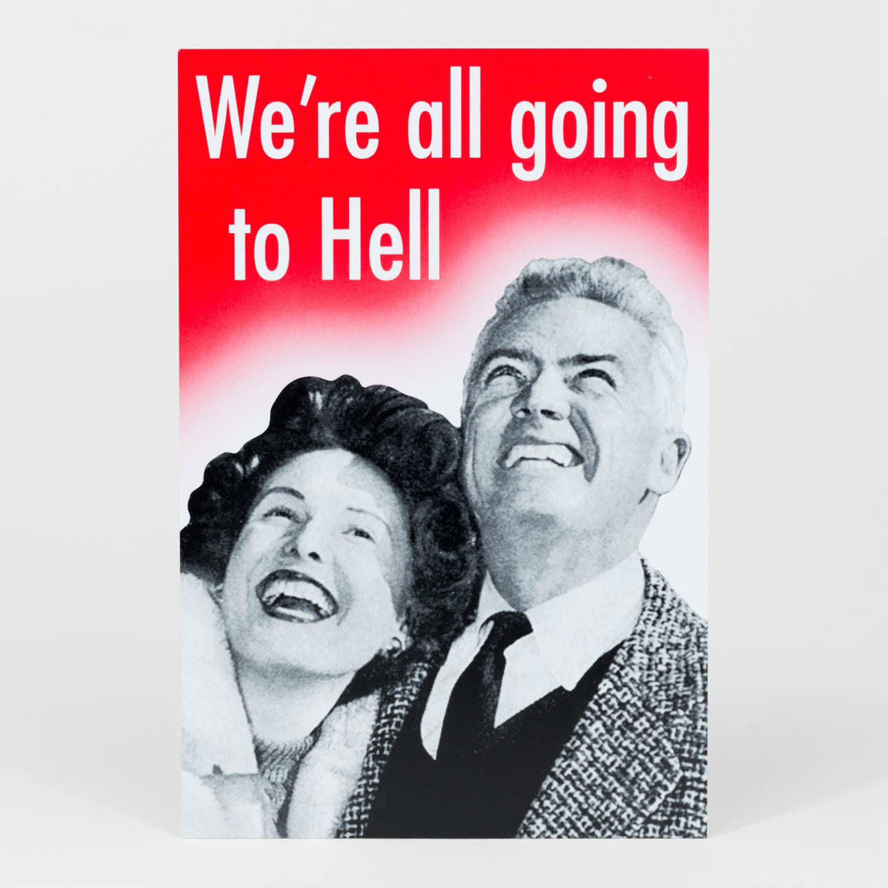 Going To Hell Postcard