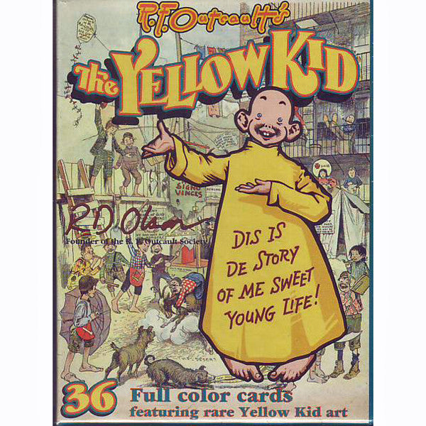 R.F. Outcault's The Yellow Kid Trading Card Set