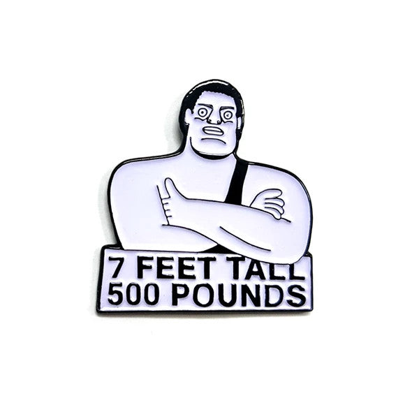 Andre The Giant Pin