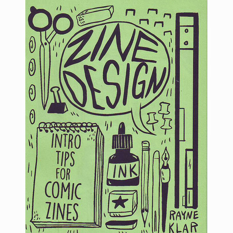 Zine Design: Intro Tips for Comic Zines