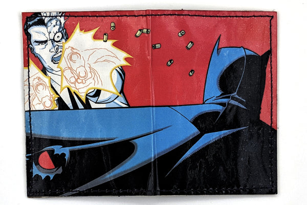 Batman Two Face Card Holder Wallet