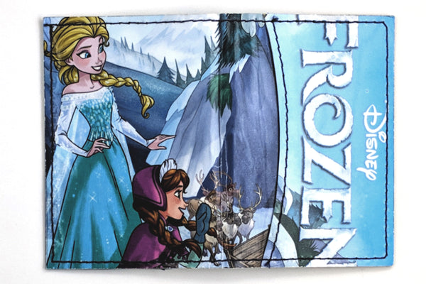 Elsa Frozen Card Holder Wallet with Extra Pocket