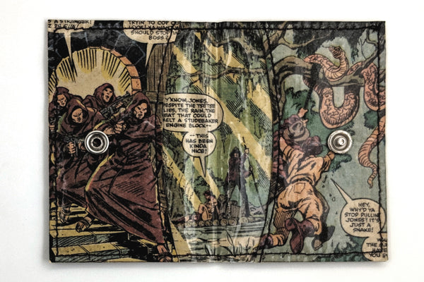 Indiana Jones Card Holder Wallet with Snap Closure