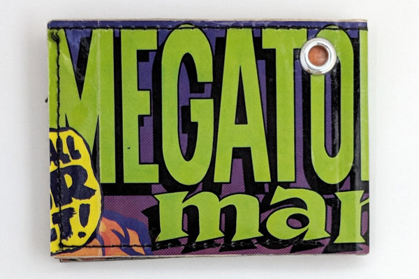 Megaton Man Bifold Wallet with Grommet