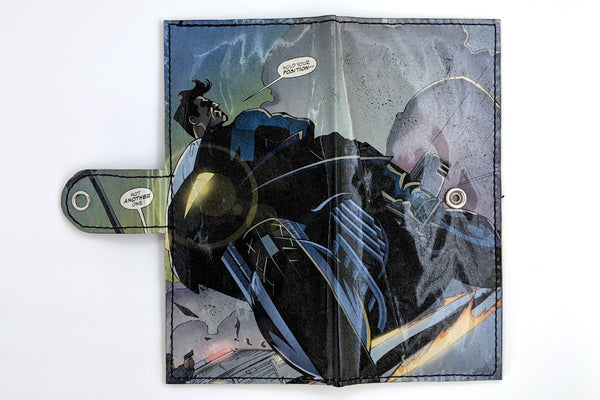 Nightwing Long Wallet with Snap