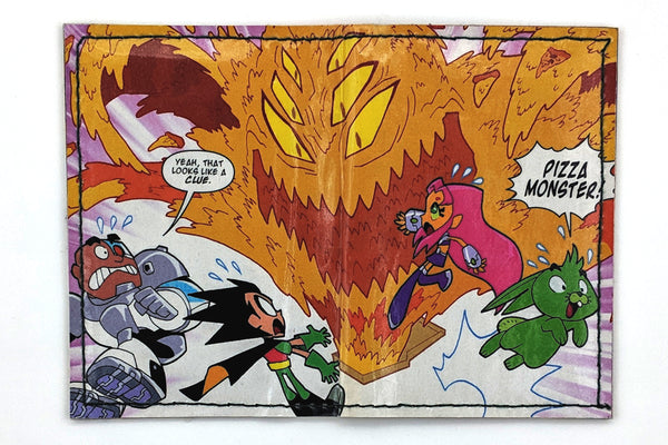 Teen Titans Pizza Monster Card Holder Wallet
