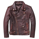 perfecto biker marron