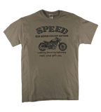 "T-shirt moto ""speed"""