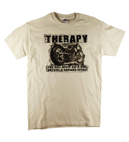 "T-shirt moto ""Therapy"""
