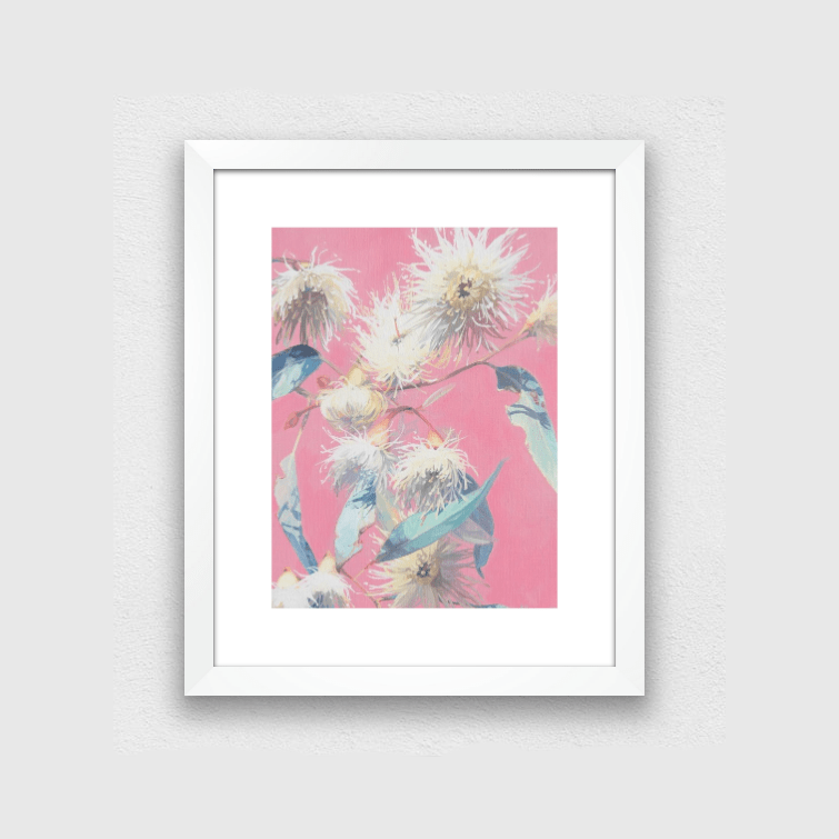 CANVAS PRINTS Pretty In Pink Gums Print - JAIME PROSSER ART
