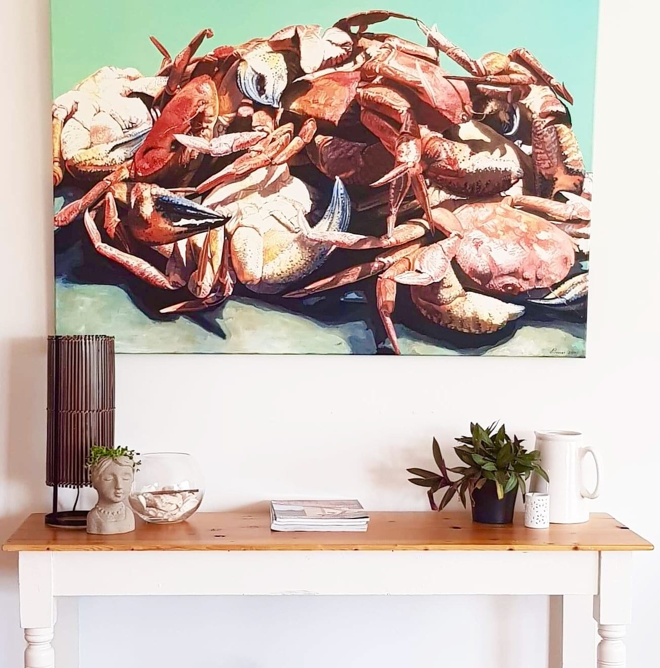 painting Crabs A Plenty by JAIME PROSSER ART