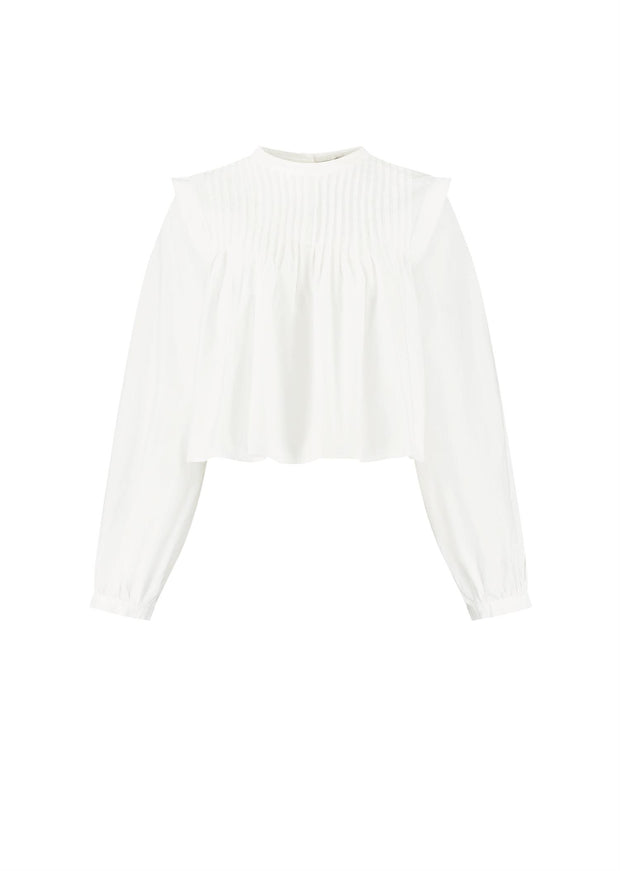 Brynlee Blouse White