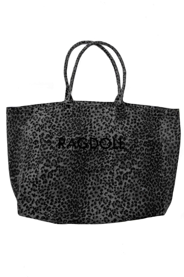 RAGDOLL HOLIDAY BAG Anthracite Leopard