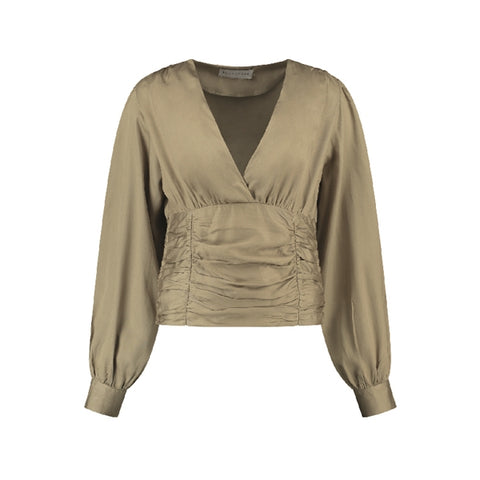 Gala Top Beige/Gold