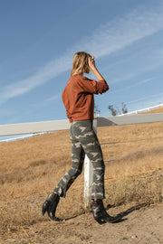 CROP LEGGINGS Camo Army