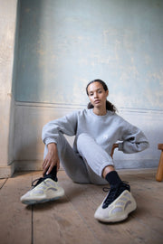 OVERSIZED SWEATSHIRT Heather grey