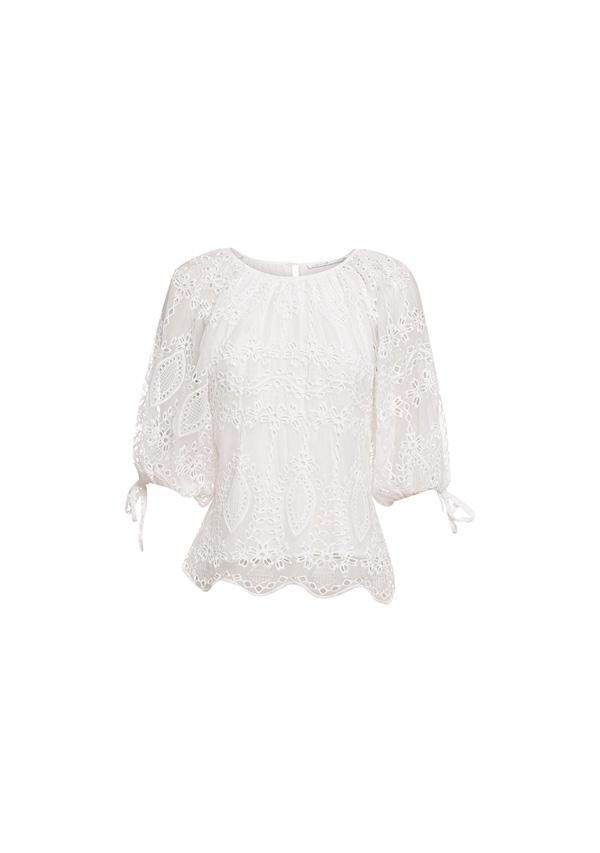 Splendour Embroidery Top
