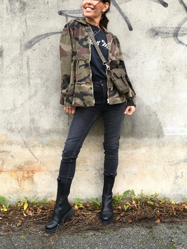 Carina jacket military