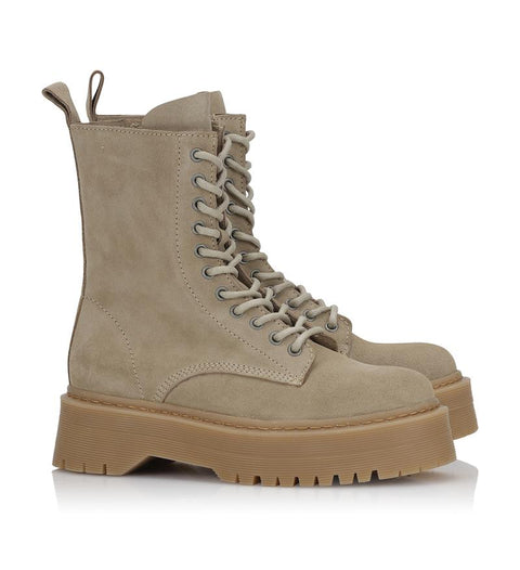 Niri Suede Sand Boots