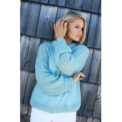 Zanya Mint Sweater