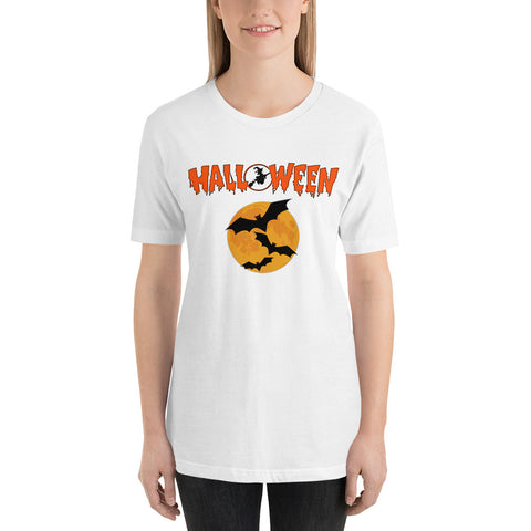 Short-Sleeve Unisex T-Shirt Halloween - shopidor