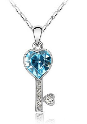 Key to My Heart - Blue