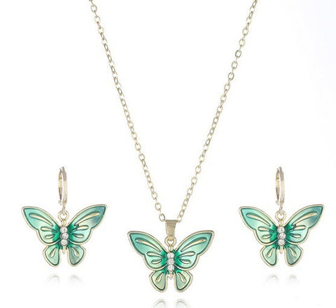 Spring Butterflies - Green