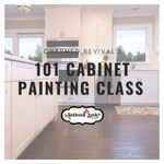 March 29th | 1:00 - 2:30  | 101 Cabinet Painting with Rethunk Junk