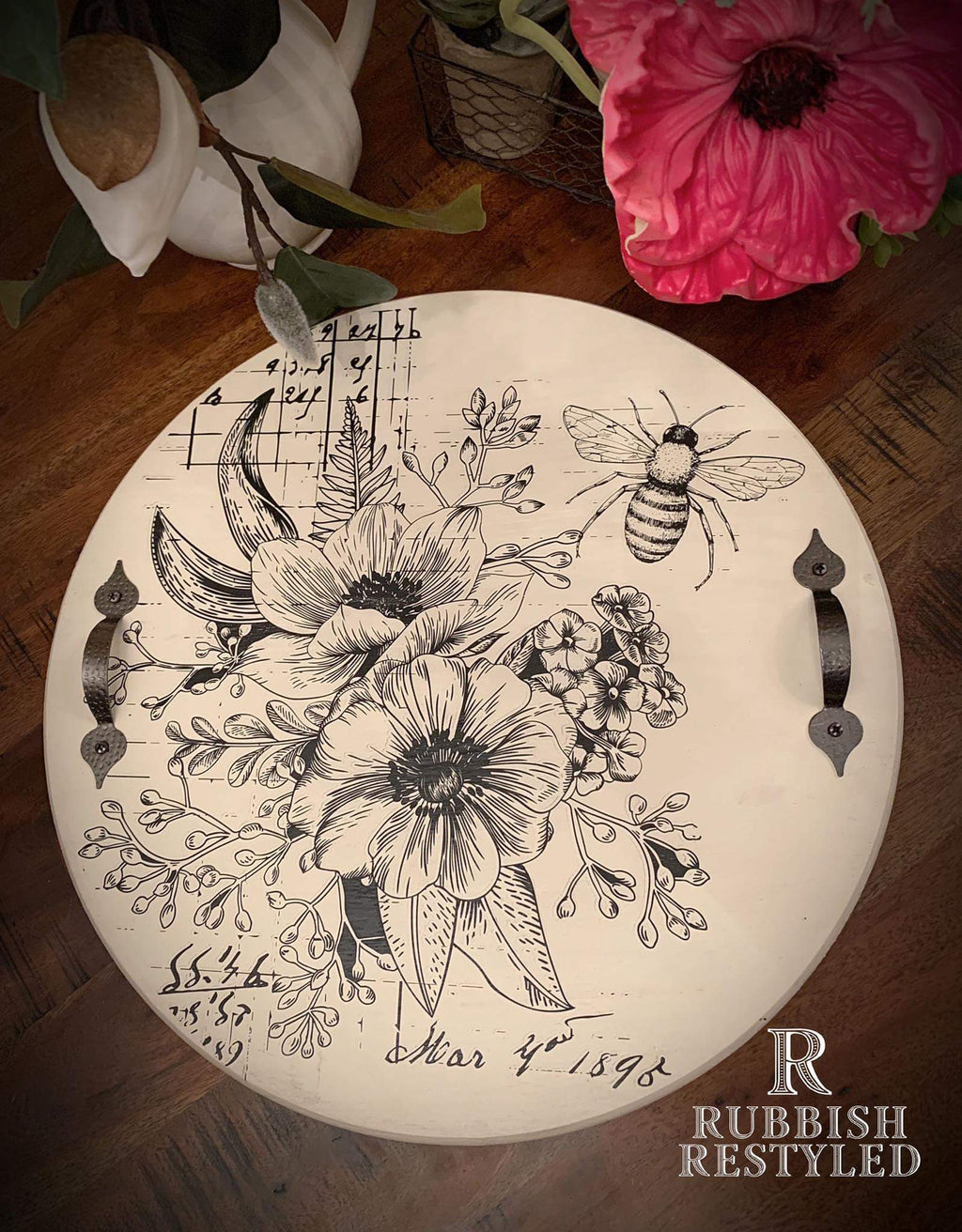 March 7th | 1:30 - 4:00 | Decorative Tray with Kimberly