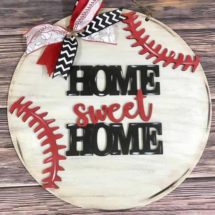 Baseball Door Hanger