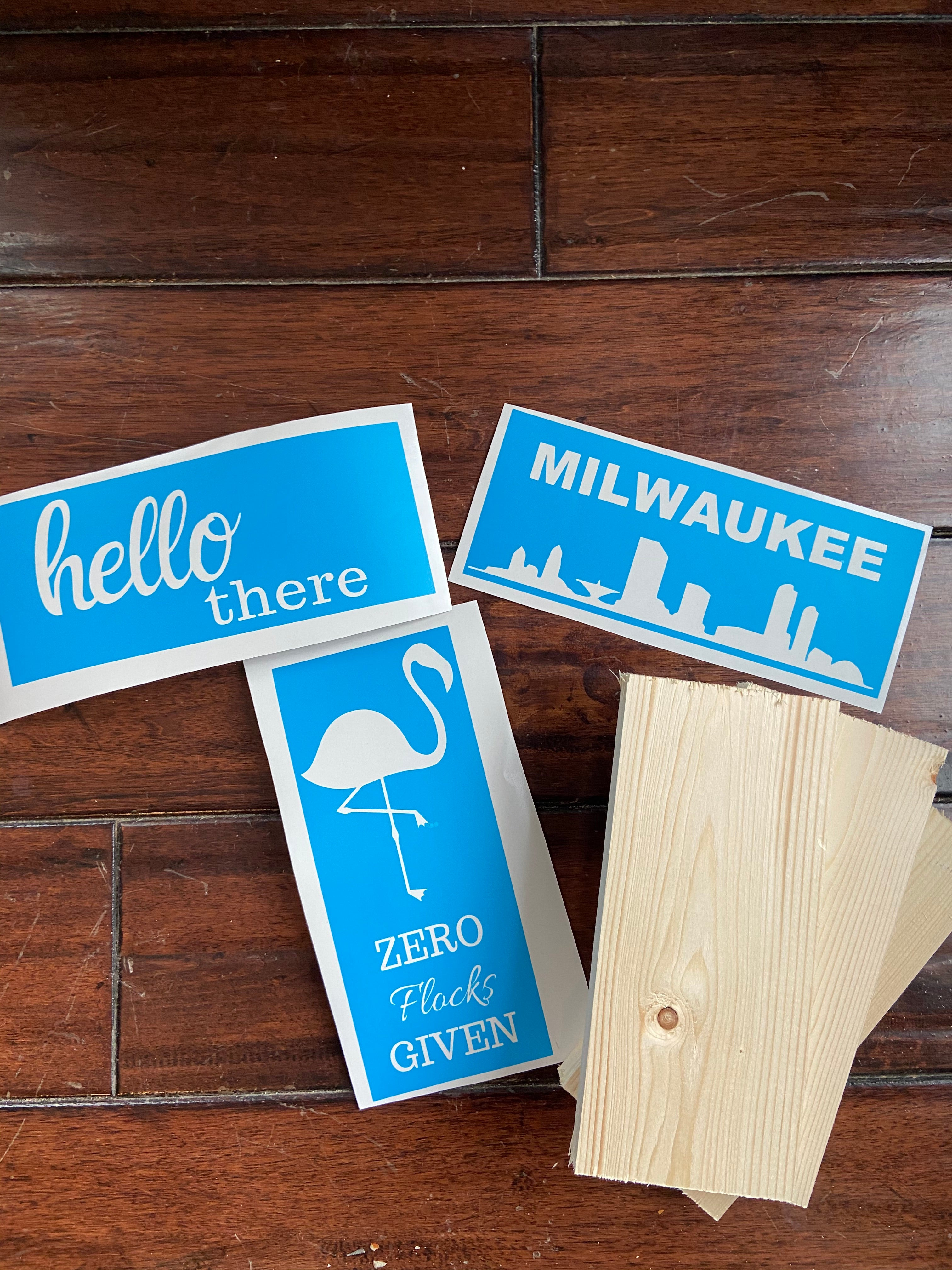 DIY KITS-TO-GO Mini signs