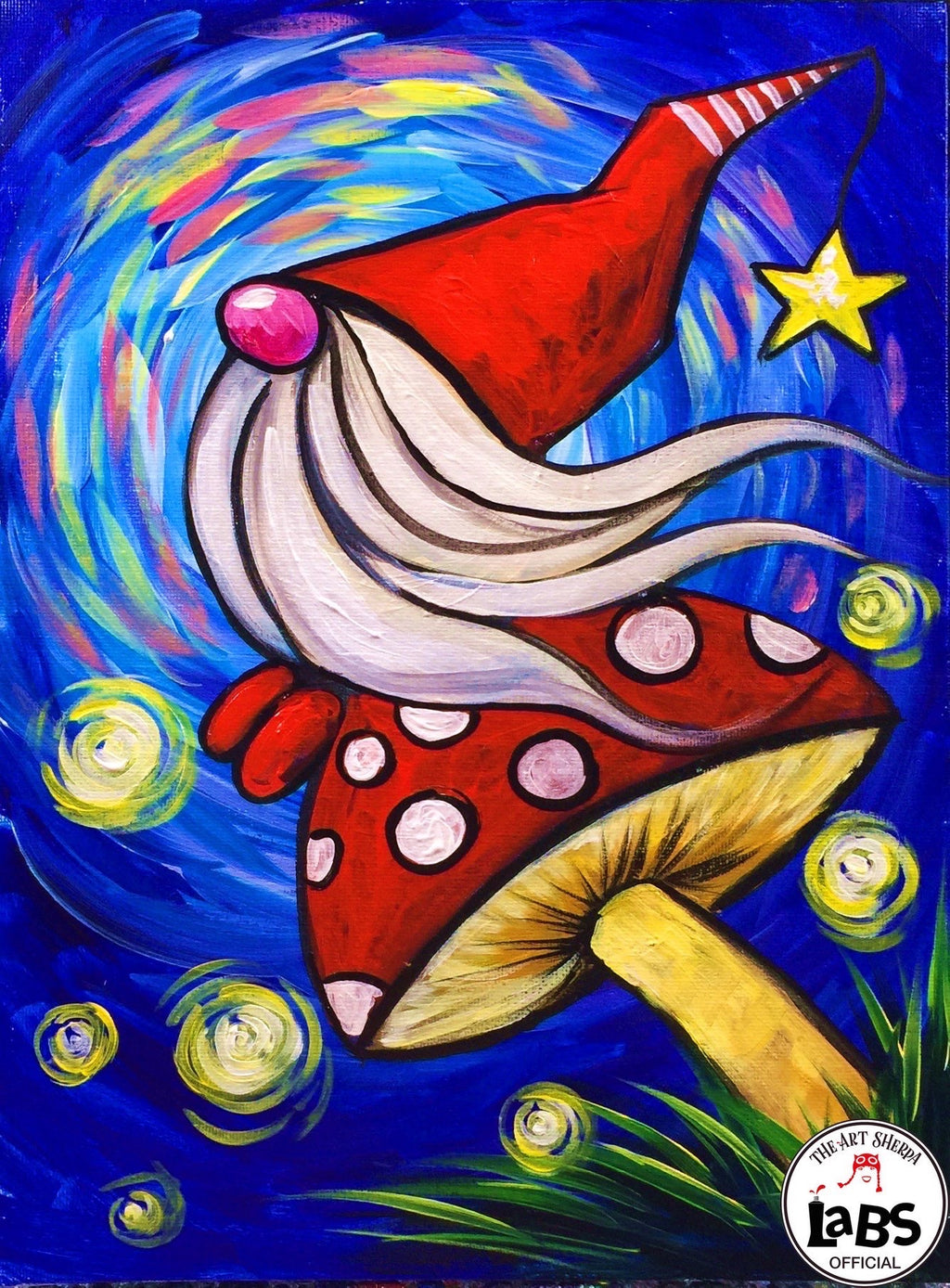 March 28th | 10:00am - 12:00m | Gnome Canvas Painting for the Family