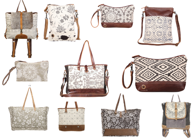 Myra Bags Charmed Revival Every #bag is truly handcrafted with spirit of vintage, ethnic and bold look. charmed revival