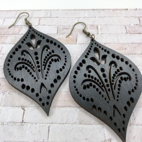 Lightweight Laser Cut Earrings: NuLu