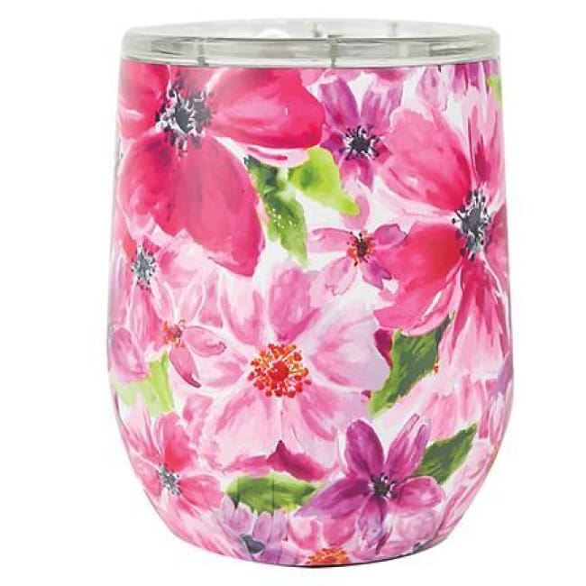 Floral Stainless Drink Travel Tumbler (Multiple Styles) - Cambridge