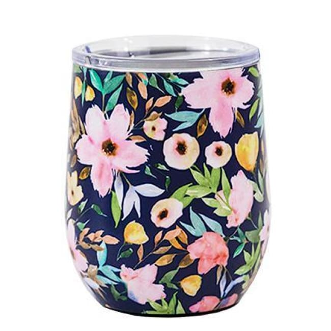 Floral Stainless Drink Travel Tumbler (Multiple Styles) - Hampstead