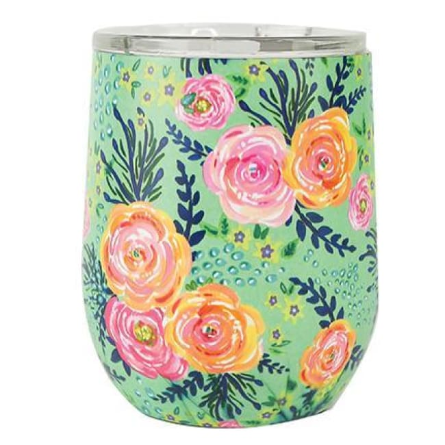Floral Stainless Drink Travel Tumbler (Multiple Styles) - Madison