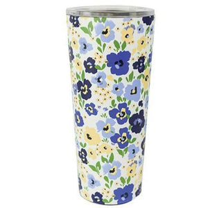 Floral Stainless Large Travel Tumbler (Multiple Styles) - Birmingham