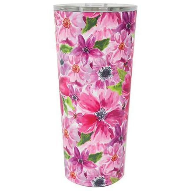 Floral Stainless Large Travel Tumbler (Multiple Styles) - Cambridge