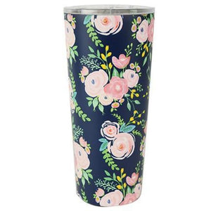 Floral Stainless Large Travel Tumbler (Multiple Styles) - Portland