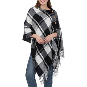 3-n-1 Plaid Wrap